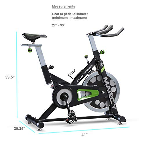 Marcy Club Revolution Bike Cycle Trainer for Cardio Exercise XJ-3220 by Marcy (Image #2)
