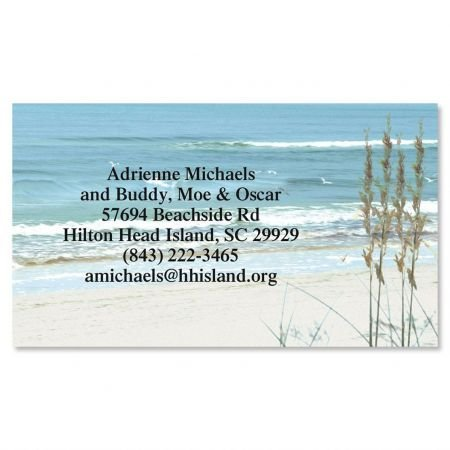 Seashore Business Cards - Set of 250 2