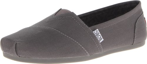 BOBS from Skechers Women's Plush Peace and Love Flat,Char...