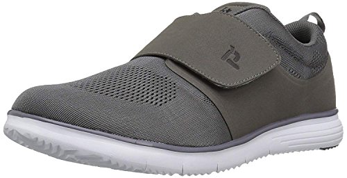 Propet Men's TravelFit Strap Walking Shoe, Black, 11 M US