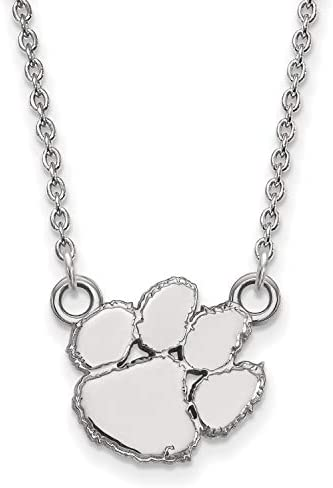 Details about  /Clemson University Tigers School Mascot Charm Pendant in Sterling Silver