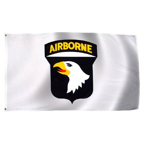 101St Airborne Flag 3X5 Foot E Poly