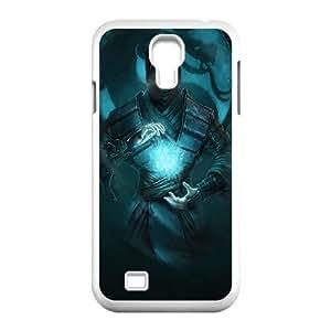 Mortal Kombat Ninja Arte Sub Zero Frío Dragón 100,049 Samsung Galaxy S4 9500 caja del teléfono celular funda blanca del teléfono celular Funda Cubierta EEECBCAAL70538
