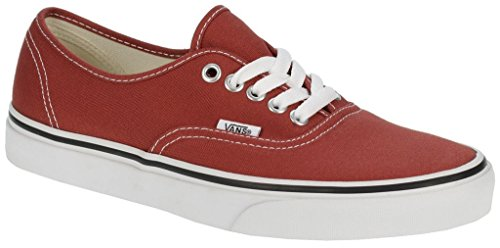VANS Unisex Authentic Red Canvas VN000EE3RED Mens 11, Womens 12.5