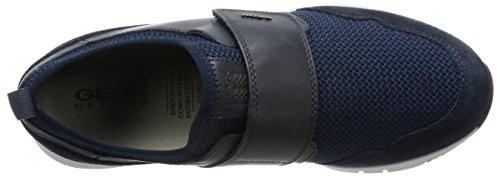 Geox Heren M Snapish 3 Mode Sneaker Marine