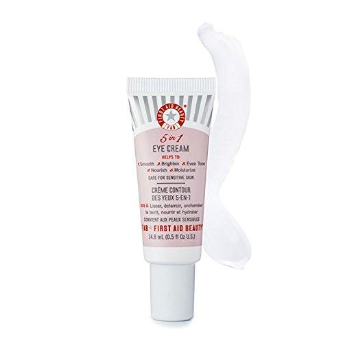 First Aid Beauty 5-IN-1 Eye Cream, 0.5 Ounce