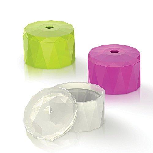 Innoka Ice Cube Trays Silicone Set Of 3 Small Diamond
