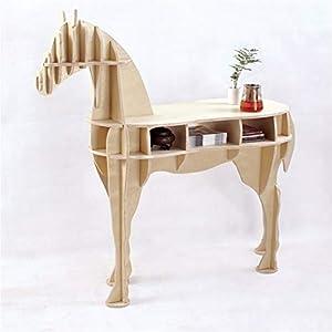 ZSYUN Tavolino Cavallo Desk Tavolo Horse Coffee in Legno Mobili for la casa FSC Tavolo in Stile Nordico (Colore : Birch… 12 spesavip