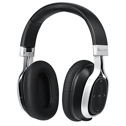 Wireless Headphones, AudioMX HB-S3 Bluetooth 4.1 Headphones with Mic and Call / Music Control, 20-Hour Play and Low Latency Review
