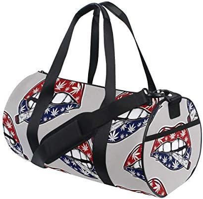 ボストンバッグ 素敵な唇 タバコ ジムバッグ ガーメントバッグ メンズ 大容量 防水 バッグ ビジネス コンパクト スーツバッグ ダッフルバッグ 出張 旅行 キャリーオンバッグ 2WAY 男女兼用