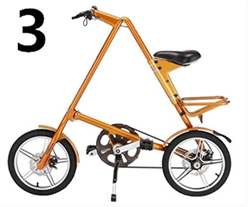 16インチ 折りたたみ自転車 折畳自転車 おりたたみ自転車 MTB おりたたみ自転車W960 B00QA175FQ オレンジ オレンジ