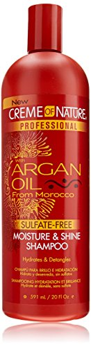 (Creme of Nature Professional Argan Oil Moisture and Shine Shampoo, 20 Ounce)
