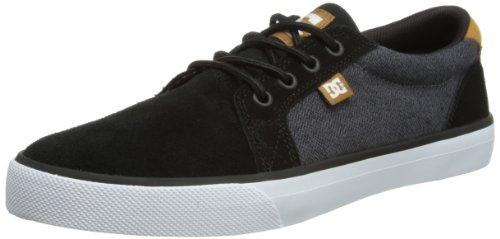 DC COUNCIL XE - Zapatos con cordones hombre negro - Schwarz (BLACK/COPPER)