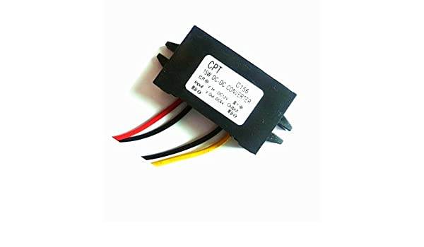 2 PCS DC//DC Converter 12V Step down to 6V 3A 15W Power Supply Automatic Recovery