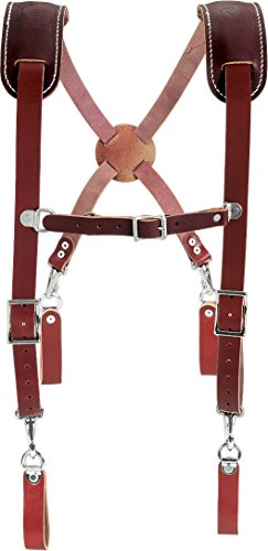 Bon Tool Occidental Leather 5009 Leather Work Suspenders