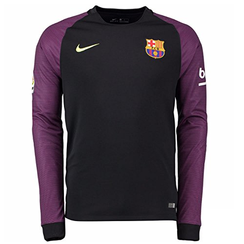 Yth Nike Stadium Noir Volt noir Barcelona Gk Ls Fc rawxa7qE
