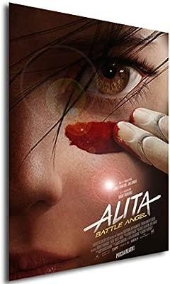 Instabuy Poster Cartel de pelicula - Alita: Ángel de Combate ...