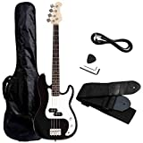 #7: Electric Bass Guitar, Safeplus Starters Acoustic Guitar Full Size 4 String Package with Guitar Bag, Strap, Guitar Pick, Amp Cord