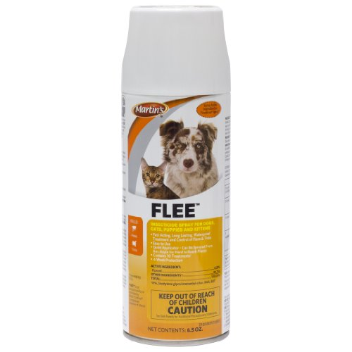 Flee Flea and Tick Insecticide Spray for Dogs Cats Fipronil Aerosol 12.3 Oz.
