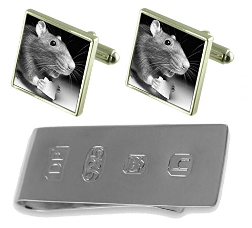 Cheese Money Clip Mouse Cufflinks with Mouse amp; Bond with James p8znqwxtR