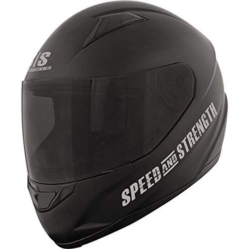 Speed And Strength SS1500 Off The Chain Matte Black Full Face Helmet (XL)