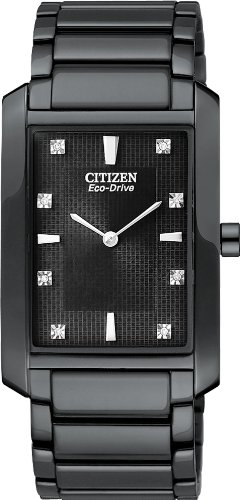 Palidoro Citizen Watch - Citizen BL6057-58E Men's Eco Drive Palidoro Black Ion Plated Casual Dress Watch