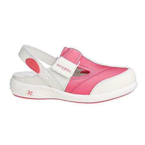 Oxypas Anais, Women's Safety Shoes, White (Lgn), 5 UK (38 EU) blanco - White (Fux)