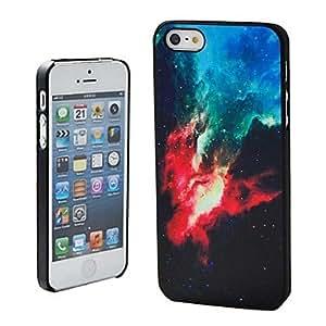 ZXM-Espacio Galaxy lindo Patrón de plástico duro caso para iPhone 5/5S