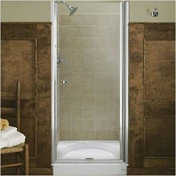 Kohler K 702404 L Sh Fluence Frameless Pivot Shower Door Bright