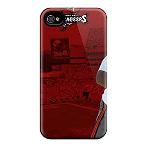 New LQSon14808RxnwQ Tampa Bay Buccaneers Tpu Cover Case For Iphone 4/4s