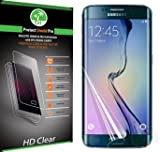 Samsung Galaxy S6 Edge Screen Protector (Front & Back) [Full Screen Coverage] Premium Hd Clear Film with Free Lifetime Replacement Warranty / Ultra High Definition Invisible and Anti-bubble Crystal Shield - Retail Packaging