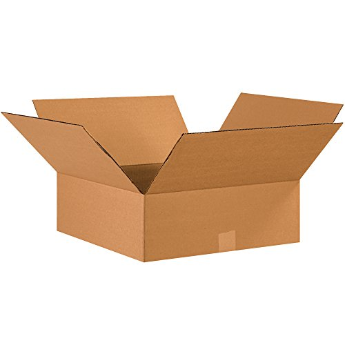 "Tape Logic TL17176 Corrugated Boxes, 17"" x 17"" x 6"", Kraft (Pack of 20) from Tape Logic"