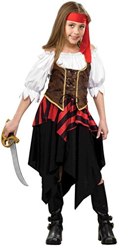[Forum Novelties Buccaneer Sweetie Costume, Medium] (Jack White Halloween Costume)
