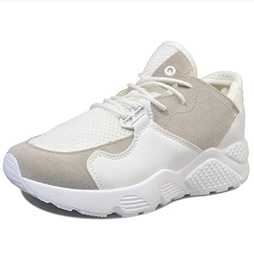 Talon Pu Fermé polyuréthane rose Confort Sneakers Blanc Femme Bout Bourgogne Chaussures Blanc Shoeshaoge Plat nqYwTgfn
