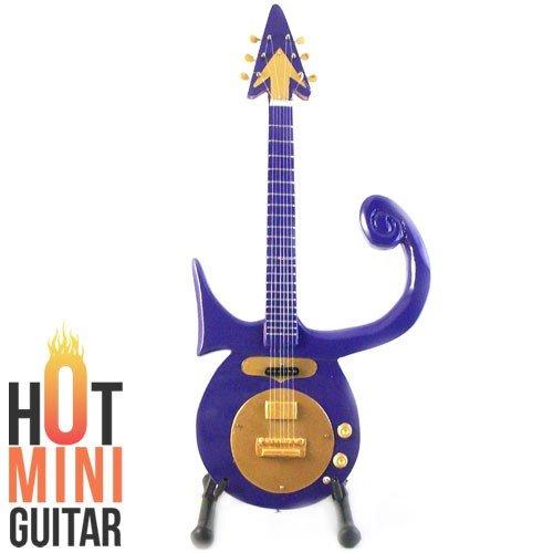 Prince Symbol Guitar Miniature Purple RAIN