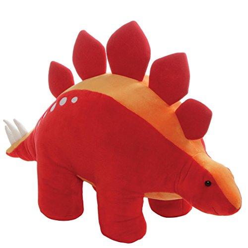 Gund Tailspin Dinosaur Stegosaurus Stuffed Animal Plush  Red  18