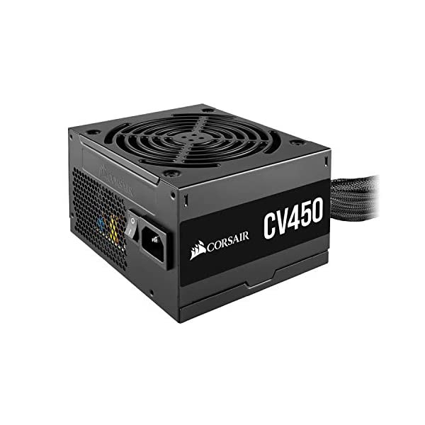 CORSAIR CX Series, CX450, 450 Watt, 80+ Bronze Certified, Non-Modular Power Supply