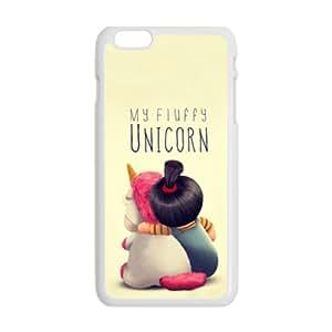 My Fluffy Unicorn White iPhone plus 6 case