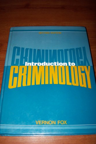 Introduction To Criminology (2nd Edition)