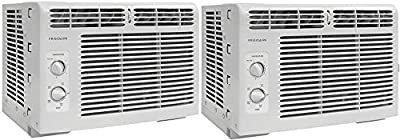 Frigidairre FFRA0511R1 5, 000 BTU 115V Window-Mounted Mini-Compact Air Conditioner with Mechanical Controls