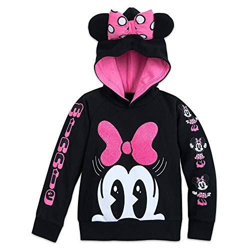 (Disney Minnie Mouse Hooded Fleece Top for Girls Size 3)