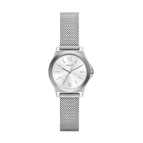DKNY Reloj Análogo clásico para Mujer de Cuarzo con Correa en Acero Inoxidable NY2488: Amazon.es: Relojes