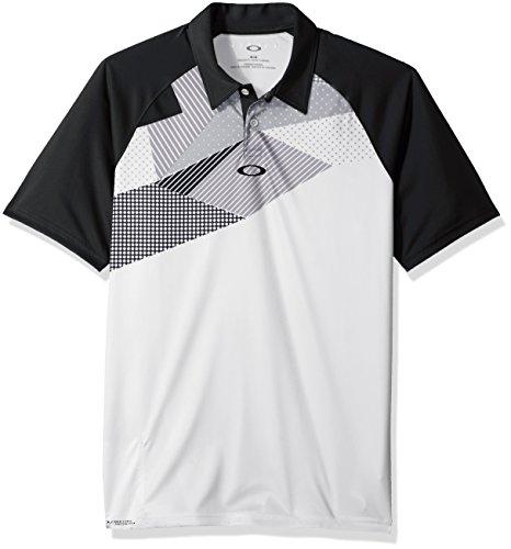 Oakley Men's Extend Polo, Blackout, XL