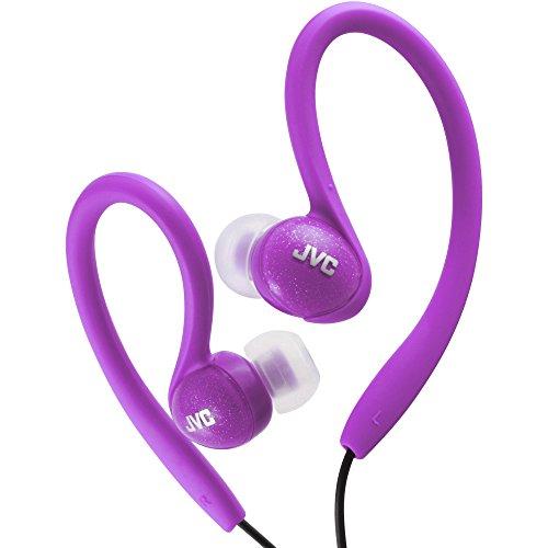 JVC HAEBX85V Inner Ear Sports Clip Headphone ()