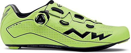 Northwave Flash Rennrad Fahrrad Schuhe gelb/schwarz 2018