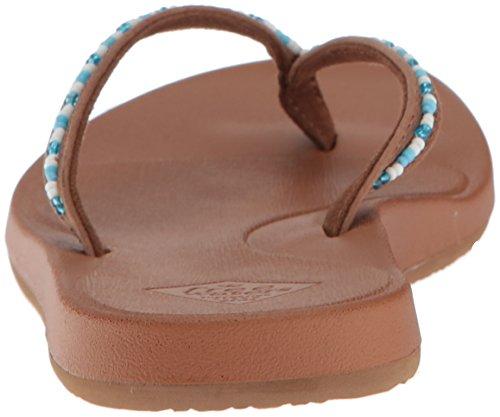 Bronceado para Freewaters Indio Mujer Sandalia Azul SwwExXa
