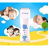 X-Jang 赤ちゃん用バリカン 子供ヘアーカッター (0-16歳適用) 家庭用、標準部品 と 6つの追加の部品