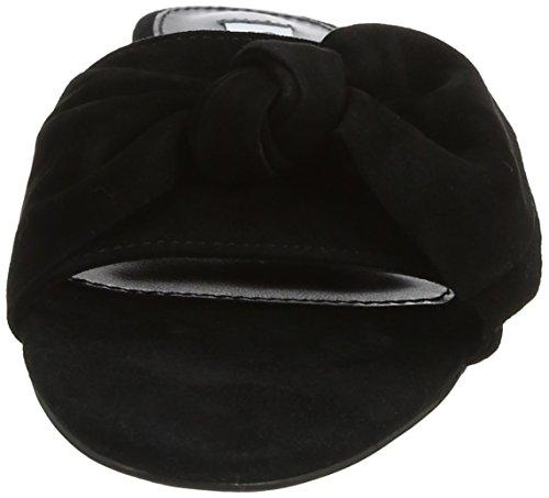 Top Steve Low Women's Truesdale Sandal Madden Black Black Slippers Flat wSnSAYrxq