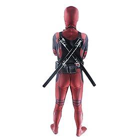 - 41 2BpL7SyemL - AOVEI Deluxe Adult Halloween Costume Lycra Spandex Zentai Jumpsuit 3D Cosplay Costumes