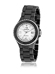 Boomerang RCA0020BL1 - Reloj con correa de caucho para mujer, color blanco / gris